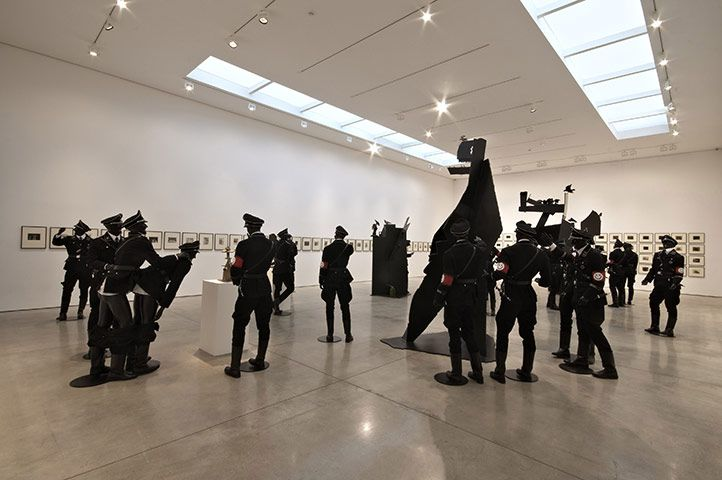 White Cube Exhibition : Jake and Dinos Chapman