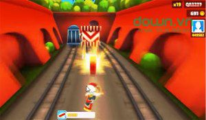 The items in the subway surfers