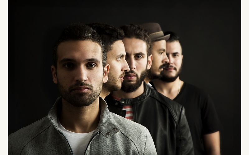 Cairokee Rock around the pyramids à l'Institut du Monde Arabe de Paris le 8 octobre 2016