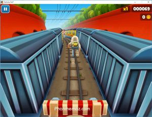 Some features in the Subway Surfers