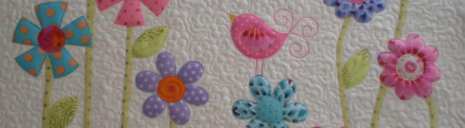 fleurs et coussin