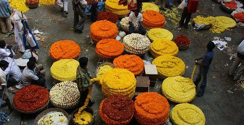De l'art floral indien