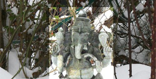 Ganesh a froid aux pieds