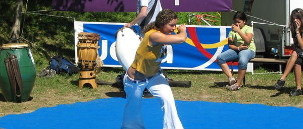 CAPOEIRA, camp d'été à MIRIBEL.