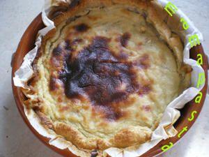 tarte flan à la banane