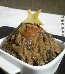 aubergine à la mode de Mayotte (Bilingani ya nadzi )