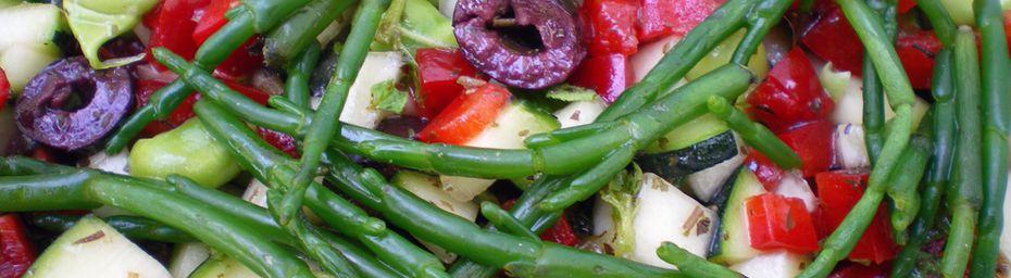 petite salade printanière iodée