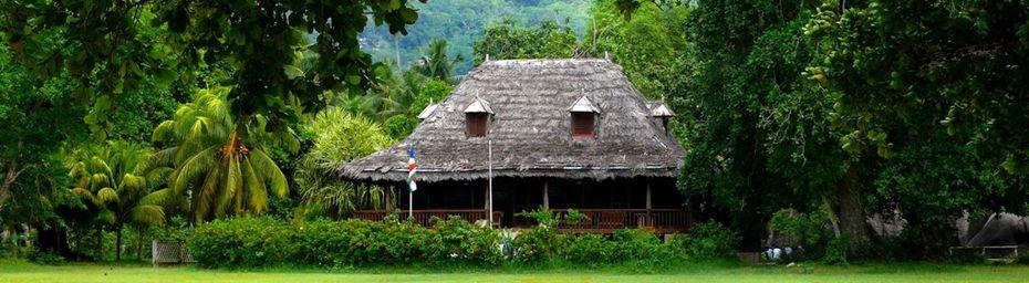 La maison d'Emmanuelle à la Digue, Seychelles (océan Indien)