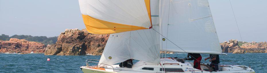 Groupe croisière : Trophée des îles à Saint-Quay, Paimpol Nautic gagne, Vulpecuna troisième.