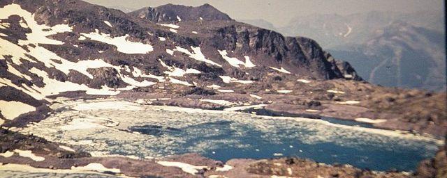 Lacs de Vens...2380 m altitude....