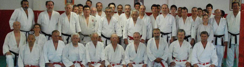 Maître AWAZU au Dojo Club Evreux