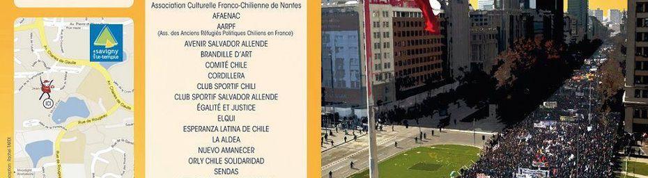 Fête nationale du Chili à Savigny le Temple le 22 septembre 2012 : le programme