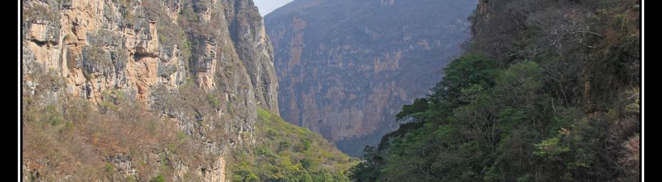 Mexique : le Canyon de Sumidero