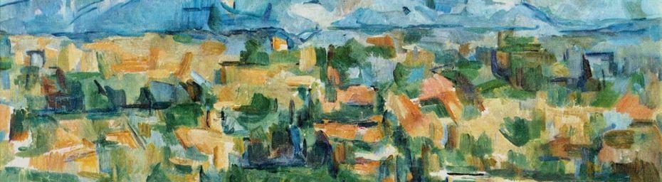 quand Cézanne peint...