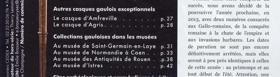 Itinéraires de Normandie HS 2 Les Gaulois