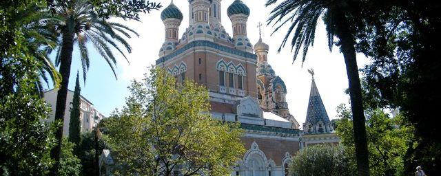 Cathédrale russe St Nicolas à Nice...