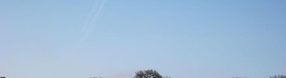 La Roque Alric - La patrouille de France dans le ciel