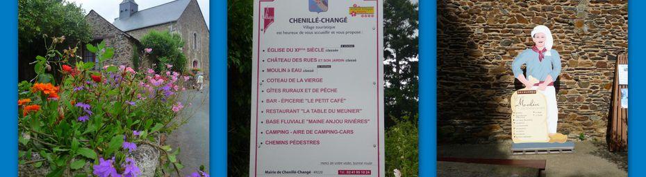 Mayenne, de Chenillé Changé à Angers (49) ... une journée pas comme les autres... merci..