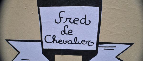 Fred le Chevalier .. street art