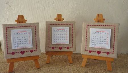 petits calendriers
