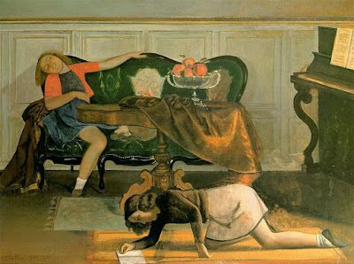 Balthus, le salon