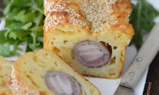 Cake Andouille - Cantal
