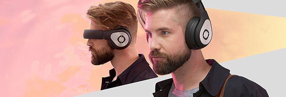 Ce casque audiovisuel futuriste vous immerge dans vos films et jeux-vidéos favoris