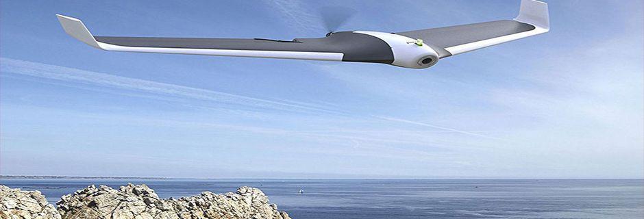 Ce drone au look futuriste est doté d'une...
