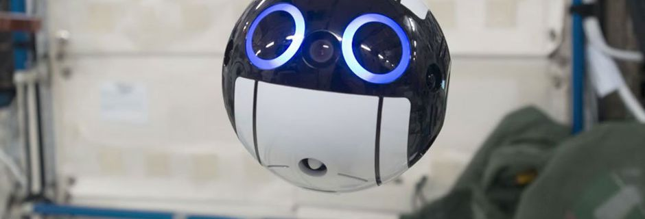 Rencontrez Int-Ball, l'adorable robot japonais envoyé à bord de la Station spatiale internationale