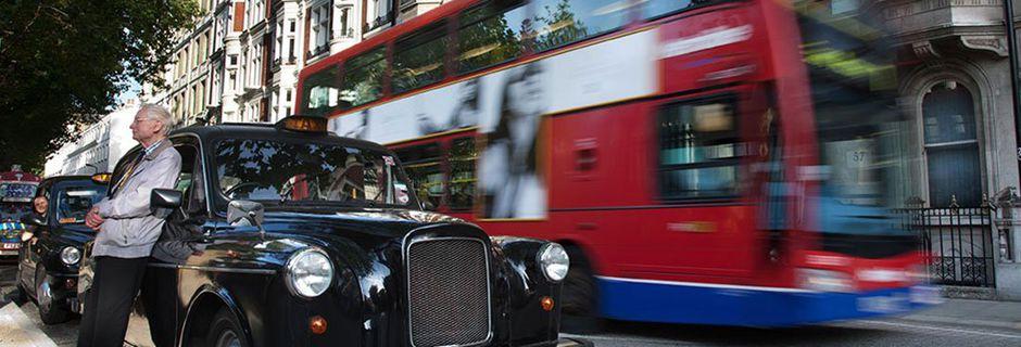 Les célèbres taxis londoniens passent au tout...