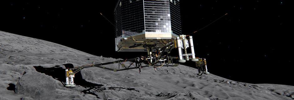Non, Rosetta n'a pas détecté de vie sur la comète Tchouri
