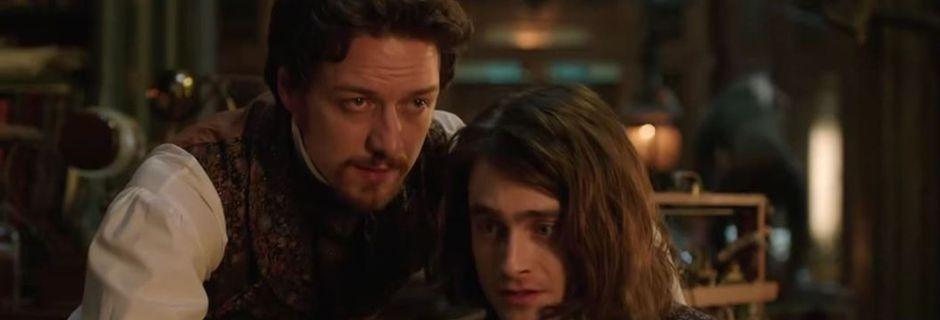 """VIDÉO. """"Victor Frankenstein"""" se dévoile dans une première bande-annonce avec Daniel Radcliffe"""