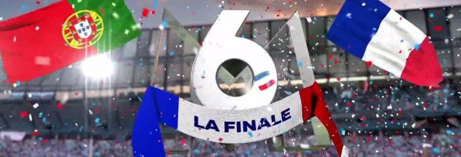 Avec France-Portugal, M6 attire 20,8 millions de téléspectateurs et explose son record d'audience