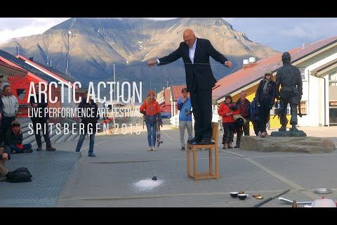 Hanging Vessel @ Nigel Rolfe. 2015. Arctic Action Spitsbergen
