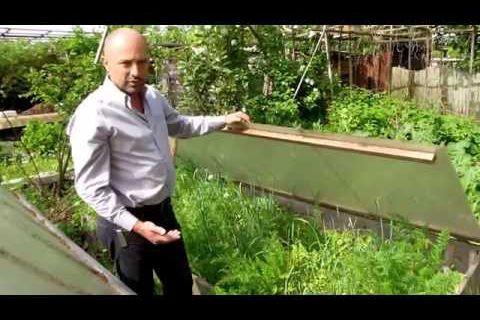 serre d'hiver (châssis) pour la permaculture, isolée, écologique, et sans besoin d'arrosage