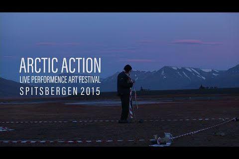 Heat Feat @ Alastair MacLennan. 2015. Arctic Action Spitsbergen