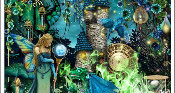 """MY BAROQUE BLUE DREAM"" de Kittsycrap"