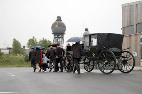 Wedding Carriage @ Herma Auguste Wittstock. 2009. Ilsede. Allemagne
