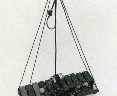 Four Hanging Music Instruments @ Joe Jones. 1970