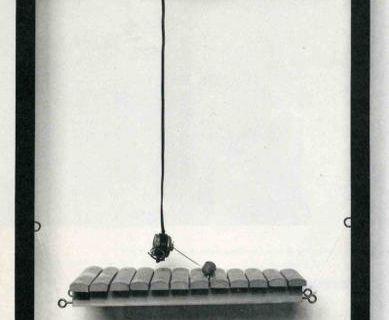 Frame Piece with xylophone @ Joe Jones. 1977
