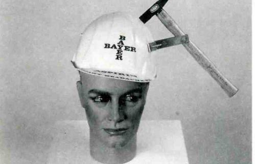Instant Headache with Bayer Aspirin @ Joe Jones. 1983