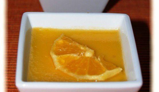 Petits Pots de Crème à l' Orange