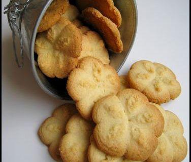 Biscuits sablés au pistolet