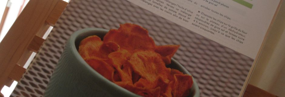 Chips de Patate Douce