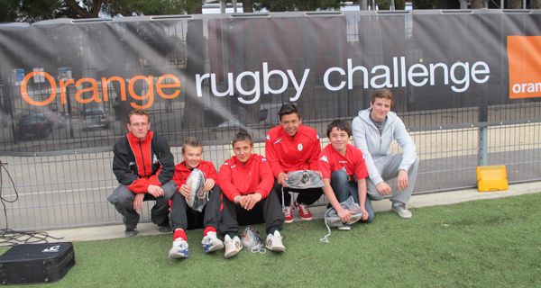 Tournoi Régional Orange Rugby Challange : Résultat officiel