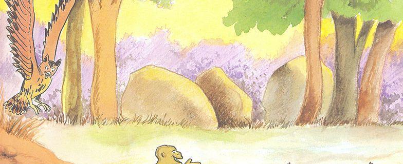 """Illustration tirée de """"La carapace perdue""""(5)"""