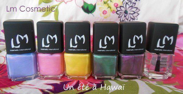 """Lm Cosmetic - Collection """"Un été à Hawaii"""""""