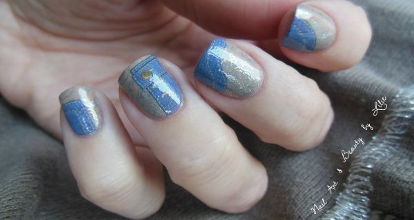 Nail Art Jeans // Lm Cosmetic