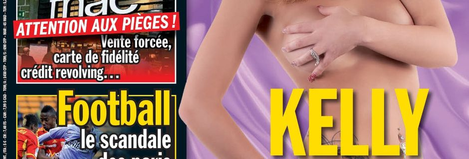 Kelly (Les ch'tis) topless sexy dans Entrevue ! - photos