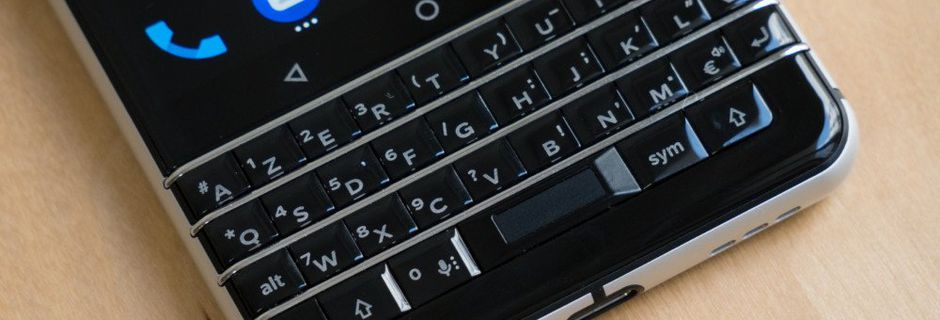 Test du BlackBerry KEYone : enfin un smartphone...